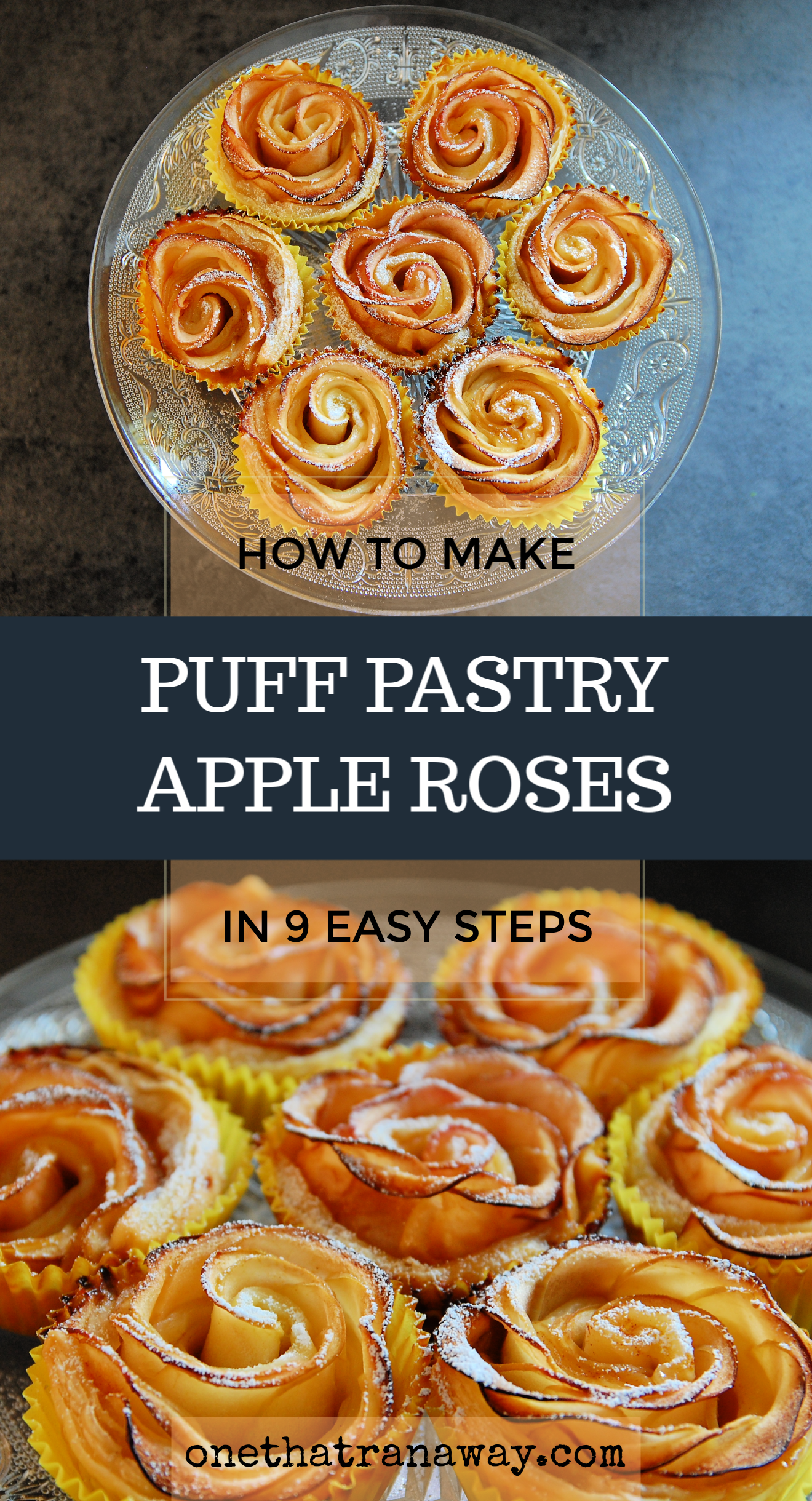 how to make perfect puff pastry apple roses in 9 steps