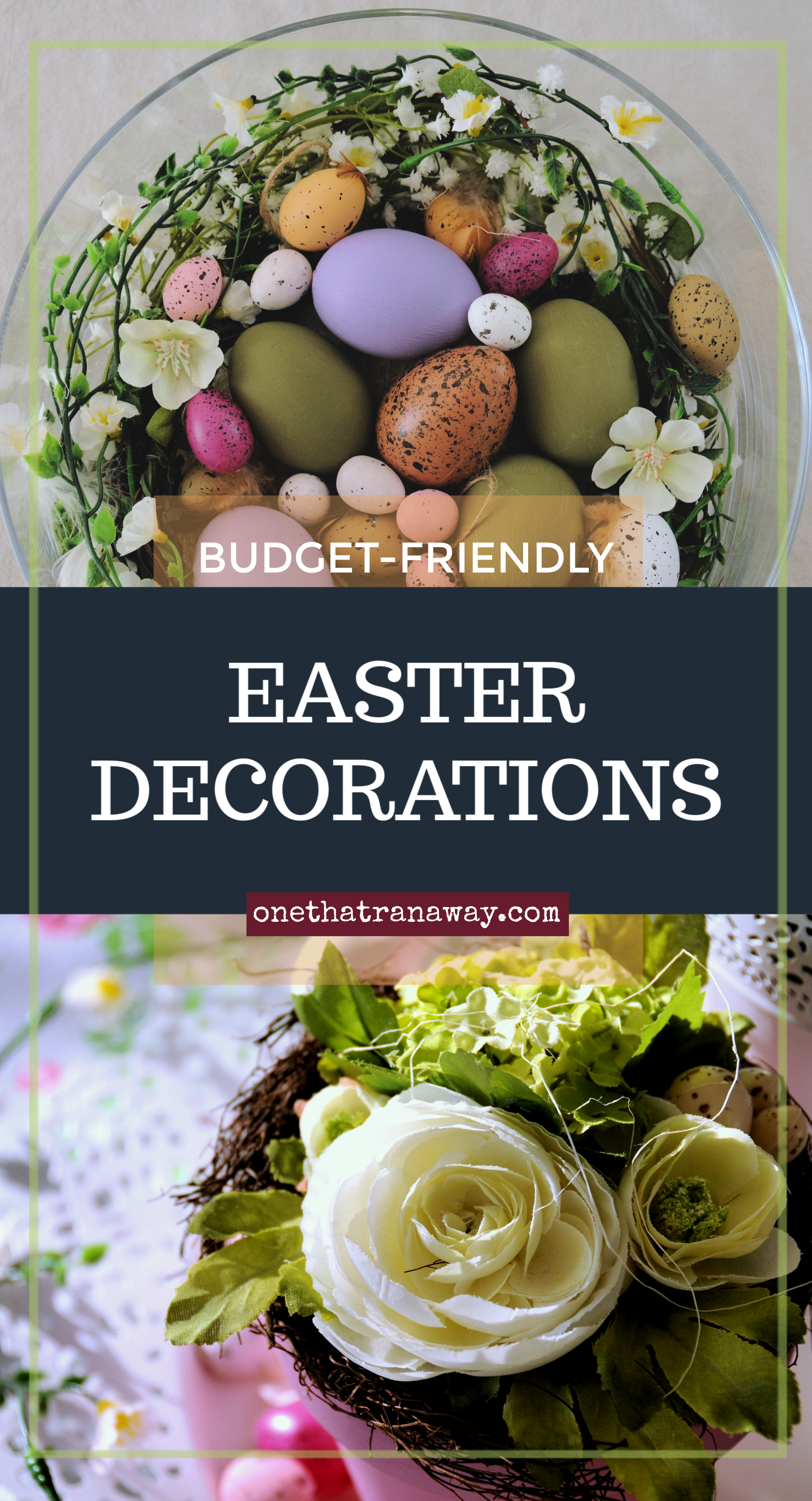 budget friendly easter decorations